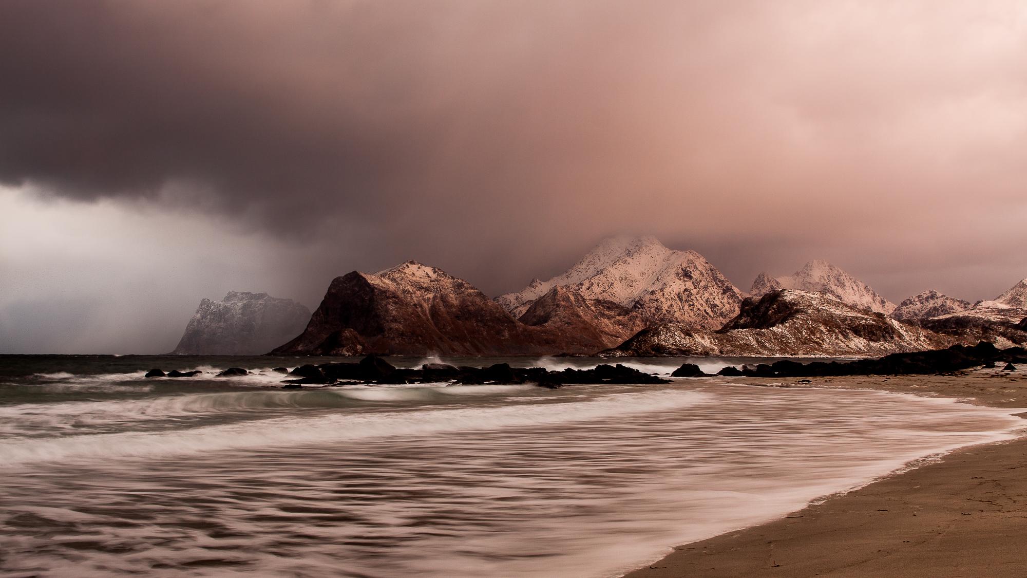 Storsandnes beach-Lofoten