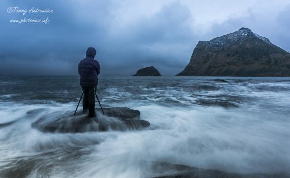Vinterfotografering Lofoten